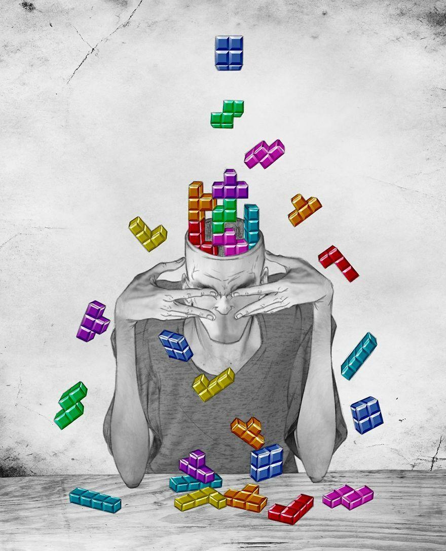 Hidup Itu Seperti Game Tetris Keputusan Yang Dibuat Harus Sesuai
