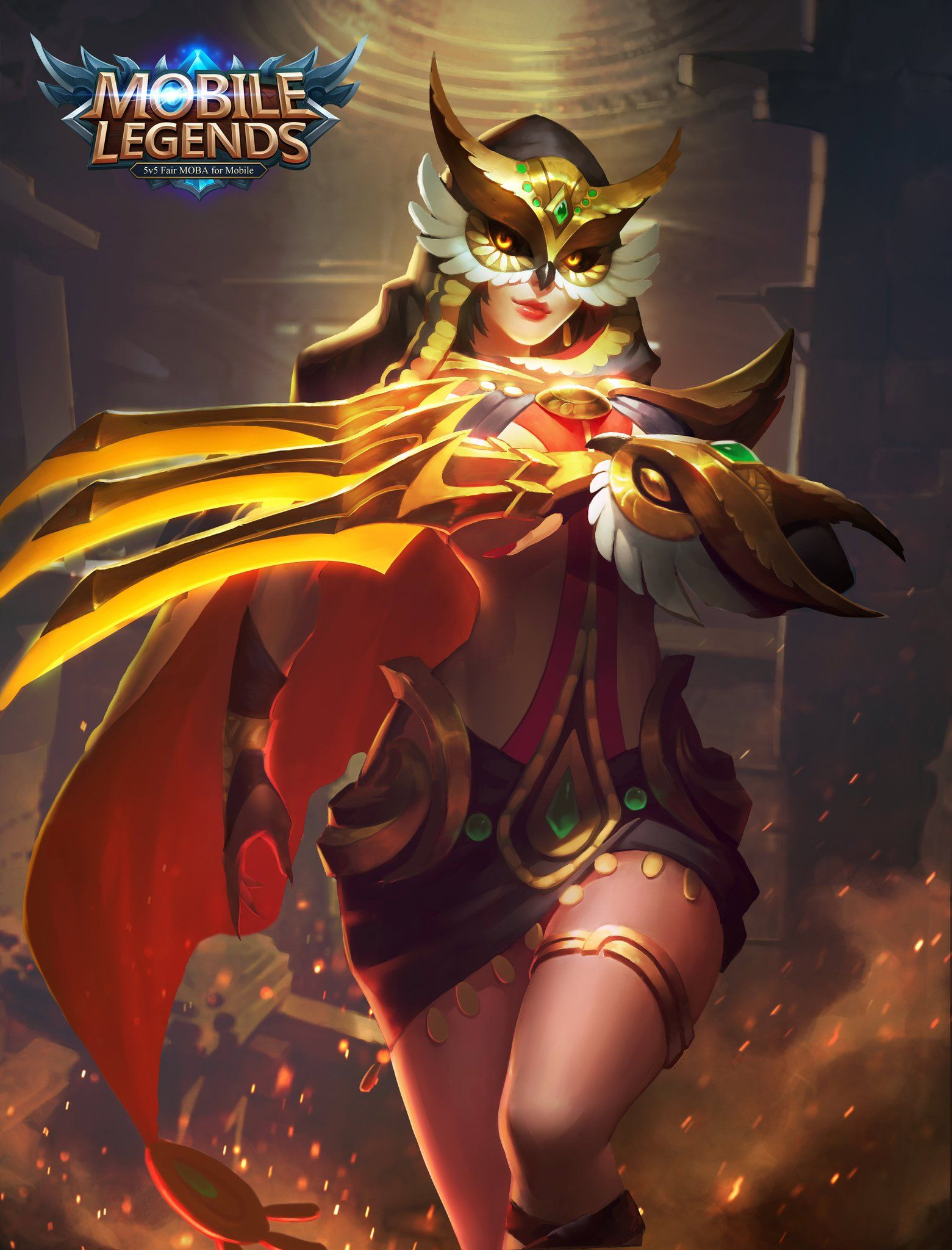 Wallpaper Mobile Legends Freya Valkrie