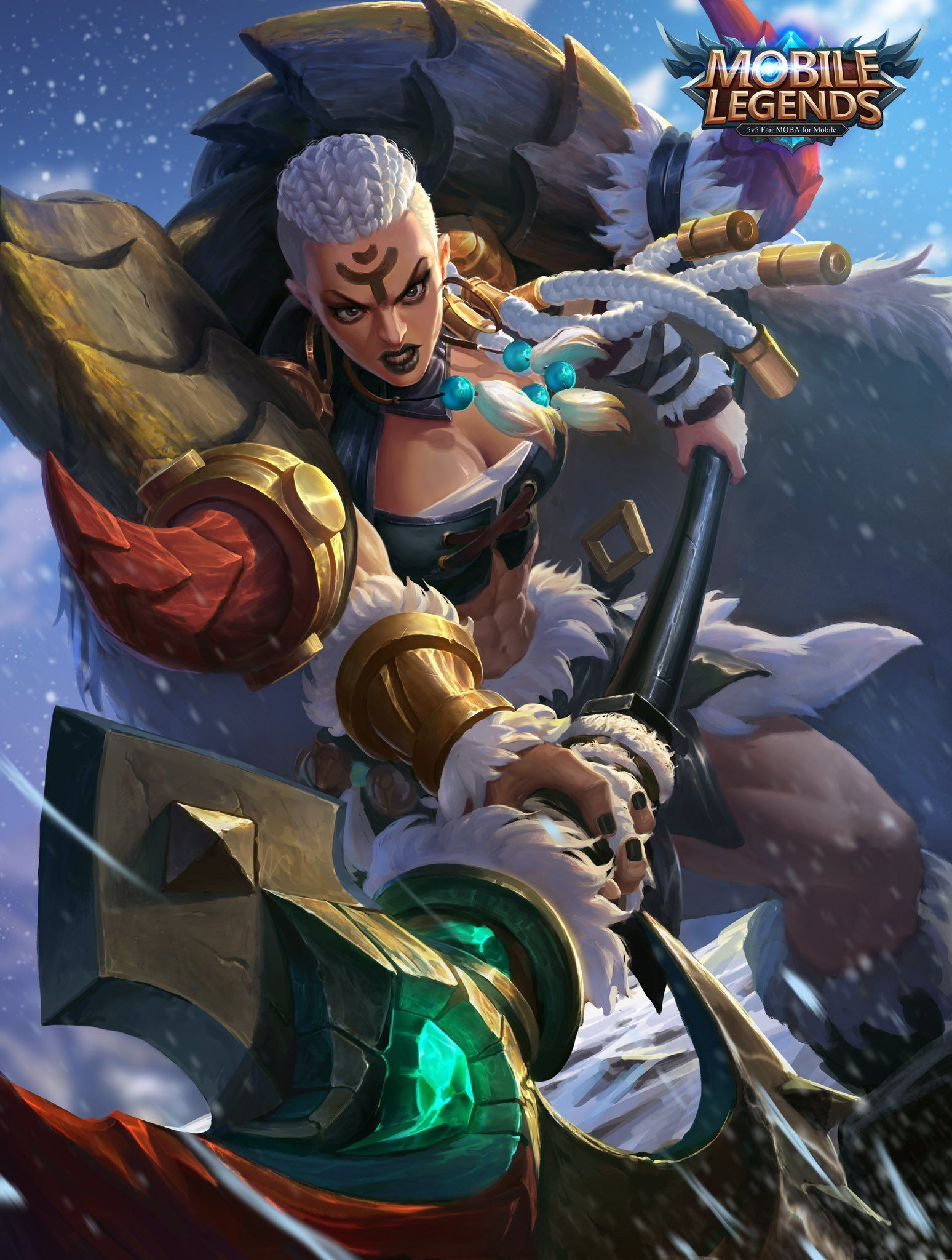 Wallpaper Mobile Legends Power Of Wildness