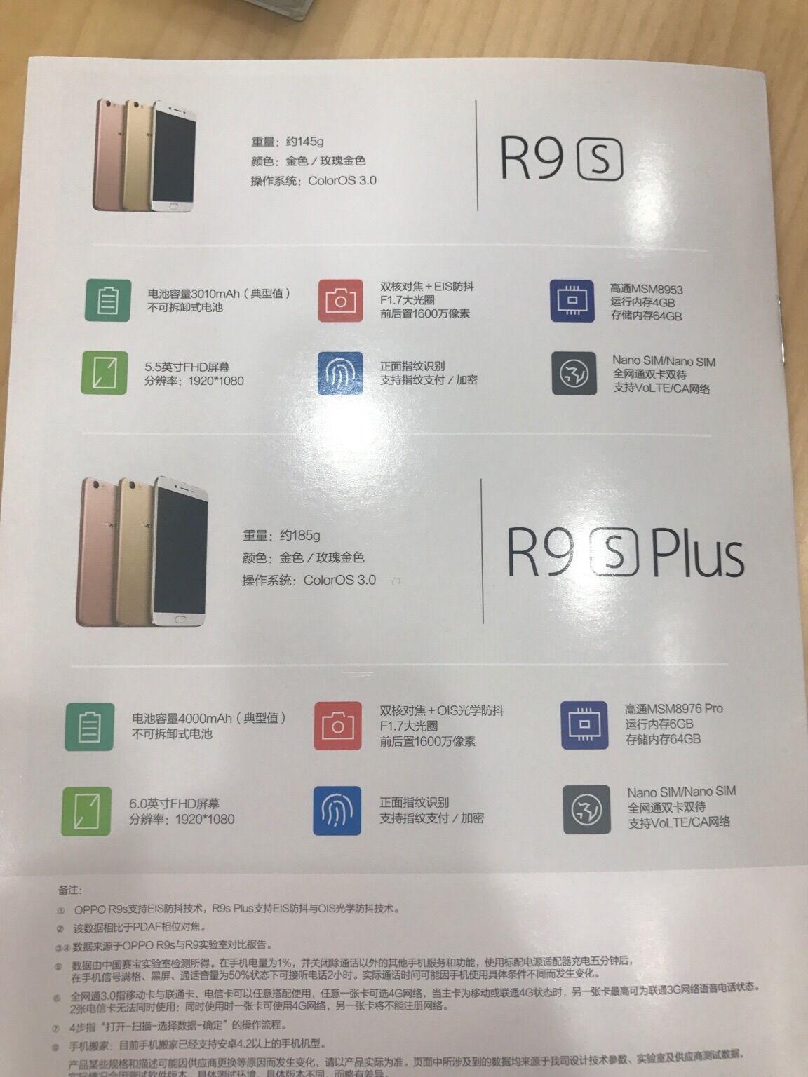 Oppo R9s Dan R9s Plus 3