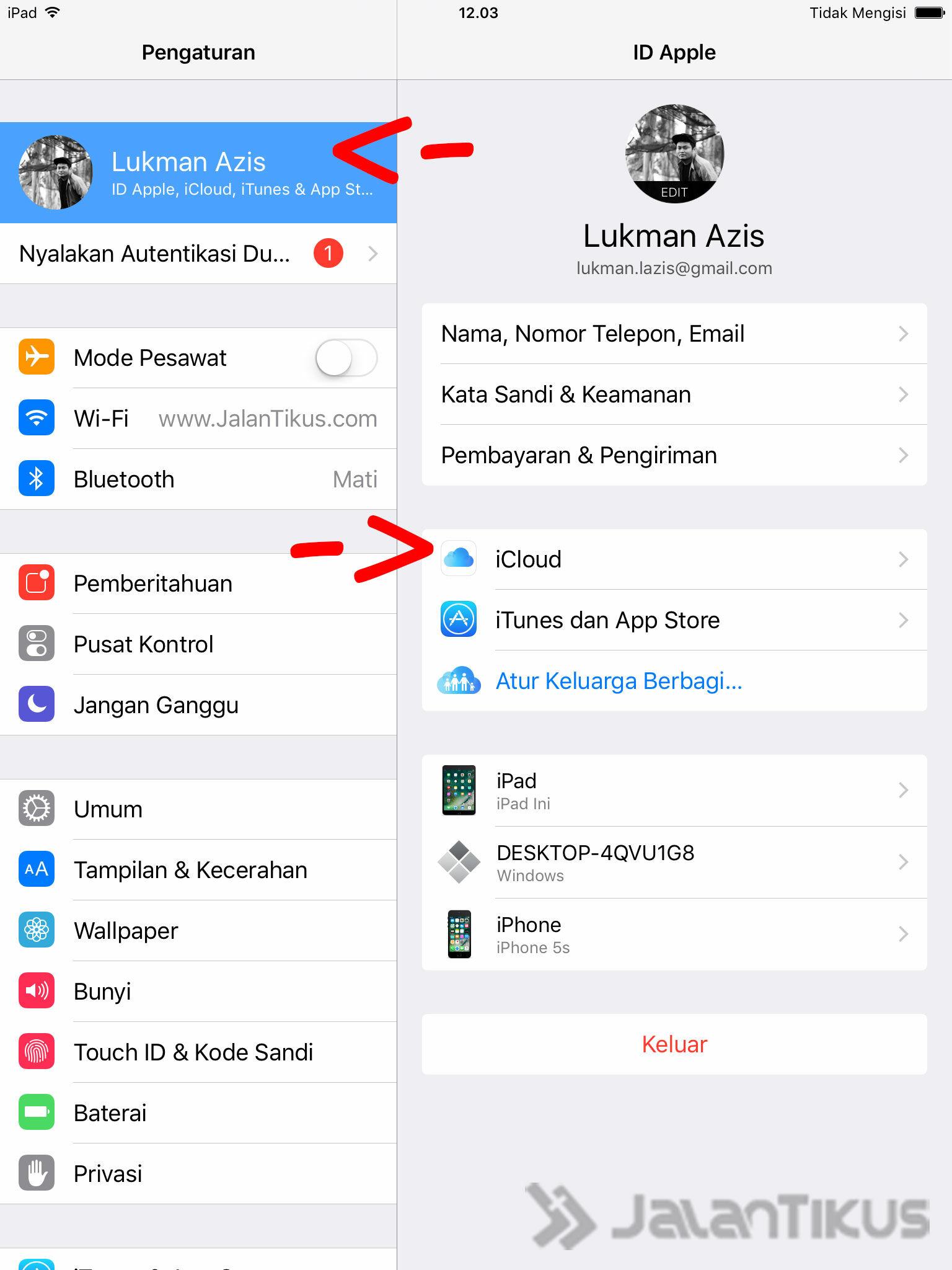 Cara Backup Data Iphone Ipad Icloud