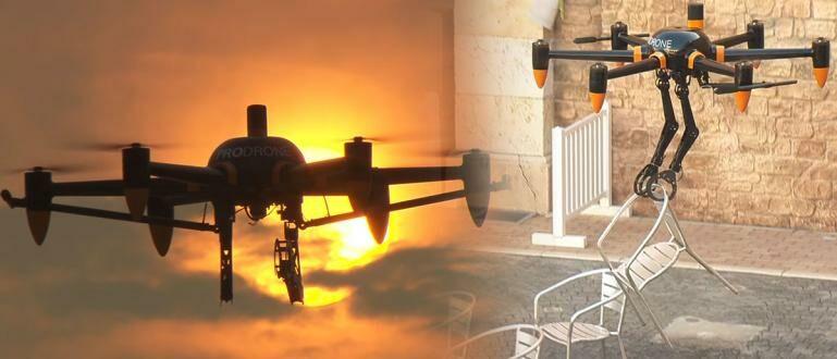 Anjay! Drone Ciptaan Jepang Ini Bisa Digunakan Untuk