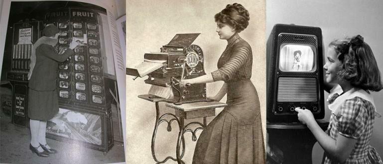 10 Foto yang Menunjukkan Bahwa Teknologi Sudah Ada Dari Jaman Dulu