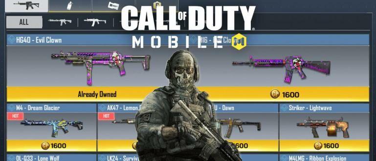 7 Senjata Terburuk di Call of Duty: Mobile, Bikin Gampang