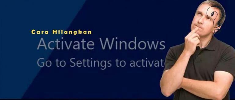 Cara Menghilangkan Activate Windows Secara Permanen | 100% WORKS