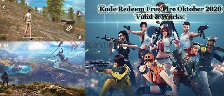 Daftar Kode Redeem FF Oktober 2020, Valid & Works ...