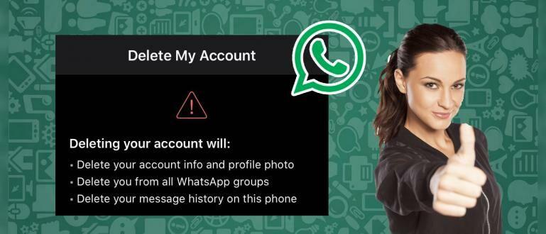 4 Cara Menghapus Akun Whatsapp Permanen/Sementara | Jalantikus
