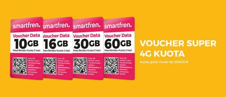 Cara Isi Voucher Smartfren Untuk Data Internet dengan Mudah