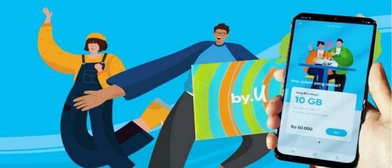 Cara Membeli Kartu by.U Lewat Aplikasi   Nggak Perlu ke Konter Pulsa!