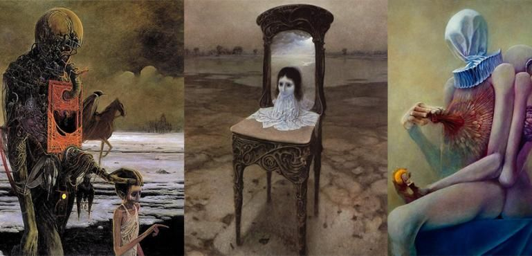 10 Karya Lukisan Menyeramkan yang Bikin Mimpi Jadi Sangat Buruk (Part 3)