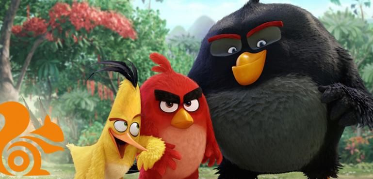Angry Birds Akan Hadir di UC Browser dan 9Apps!