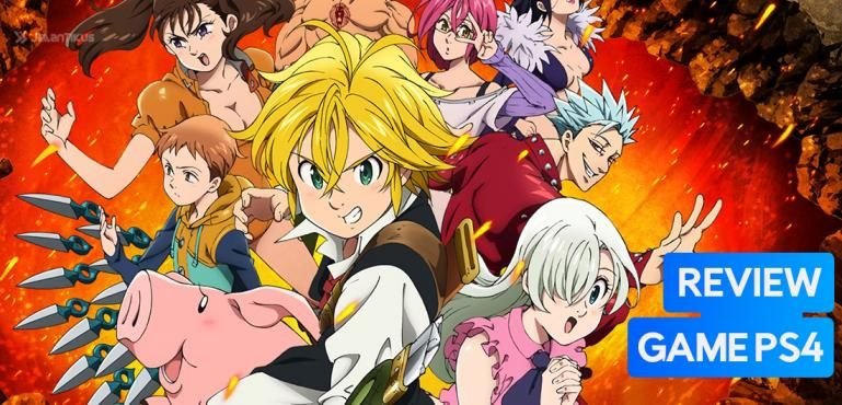 Review Game PS4 - The Seven Deadly Sins: Knights of Britannia