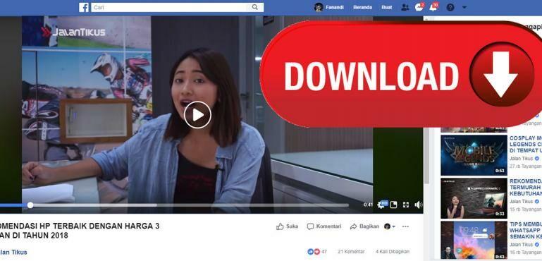 Cara Cepat dan Mudah Download Video Facebook Tanpa Aplikasi