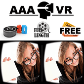 AAA VR Cinema Cardboard 3D SBS